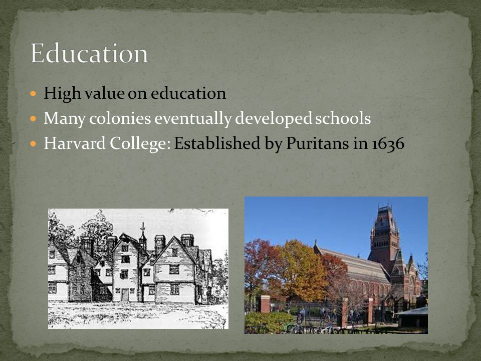 Education High value on education