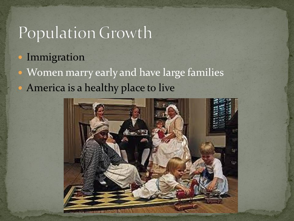 Population Growth Immigration