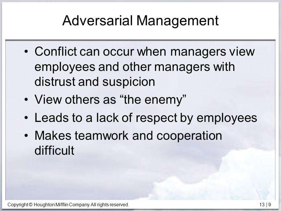 Adversarial Management