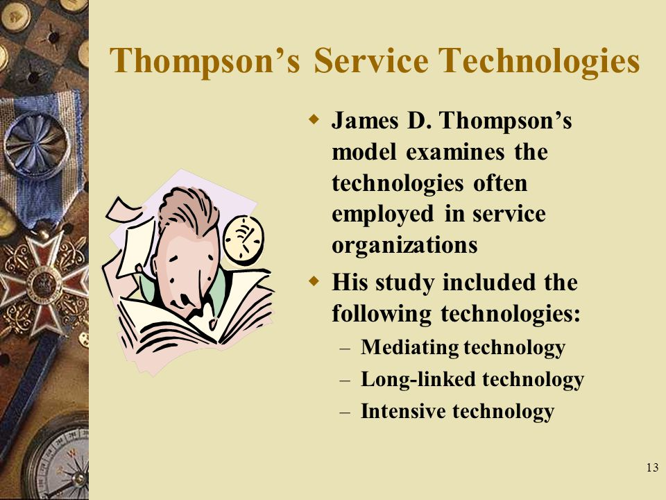 Thompson's Service Technologies