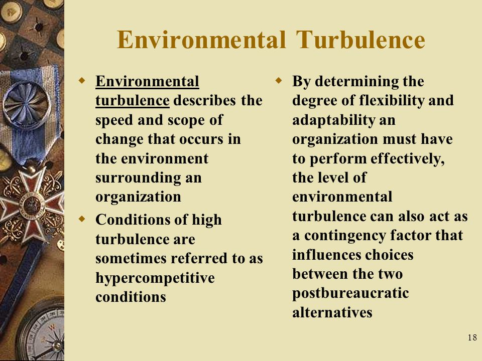 Environmental Turbulence