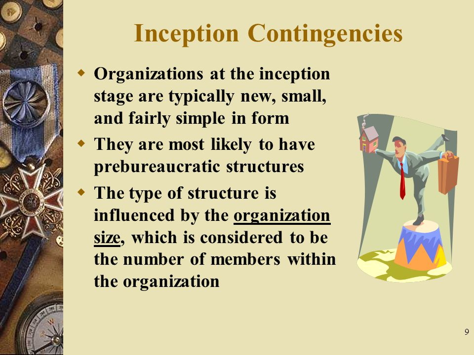 Inception Contingencies