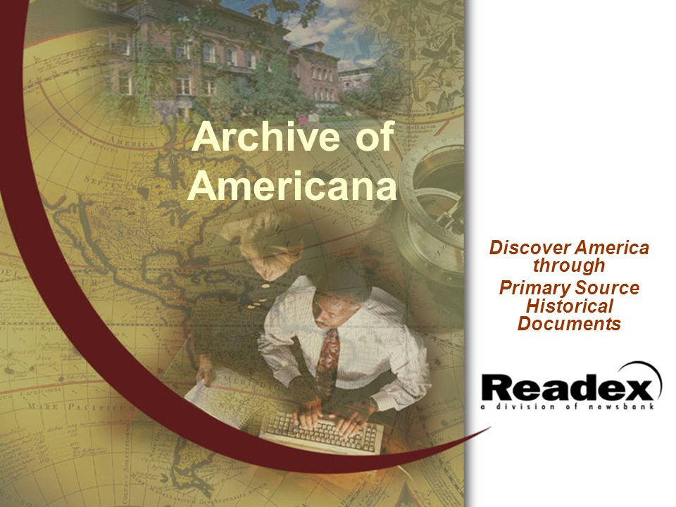 Discover America through Primary Source Historical Documents