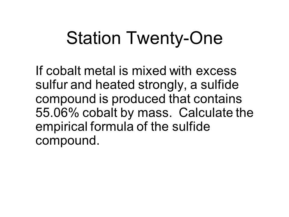Station Twenty-One