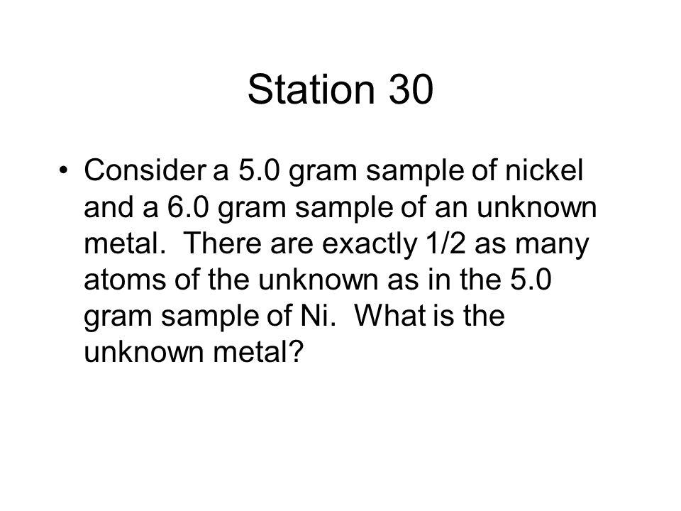 Station 30