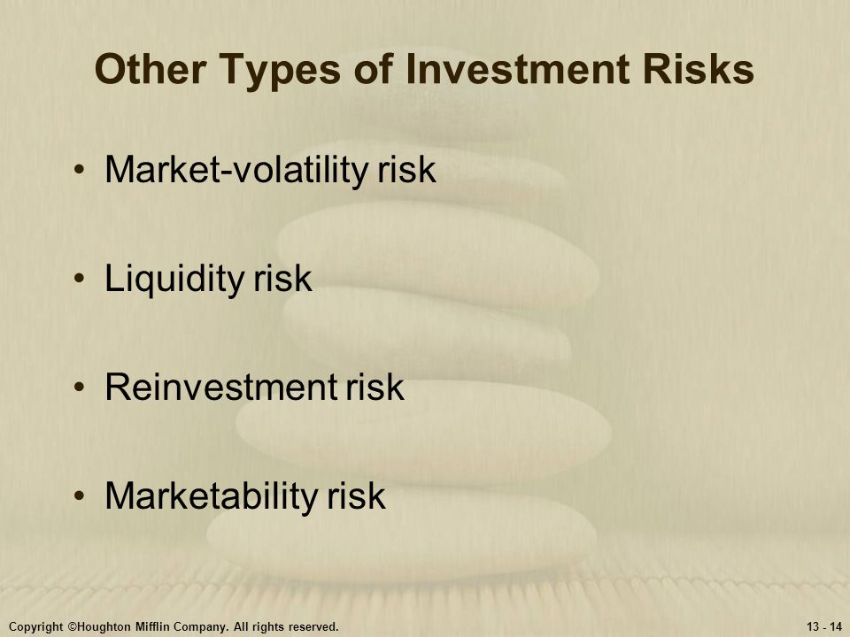 Other Types of Investment Risks