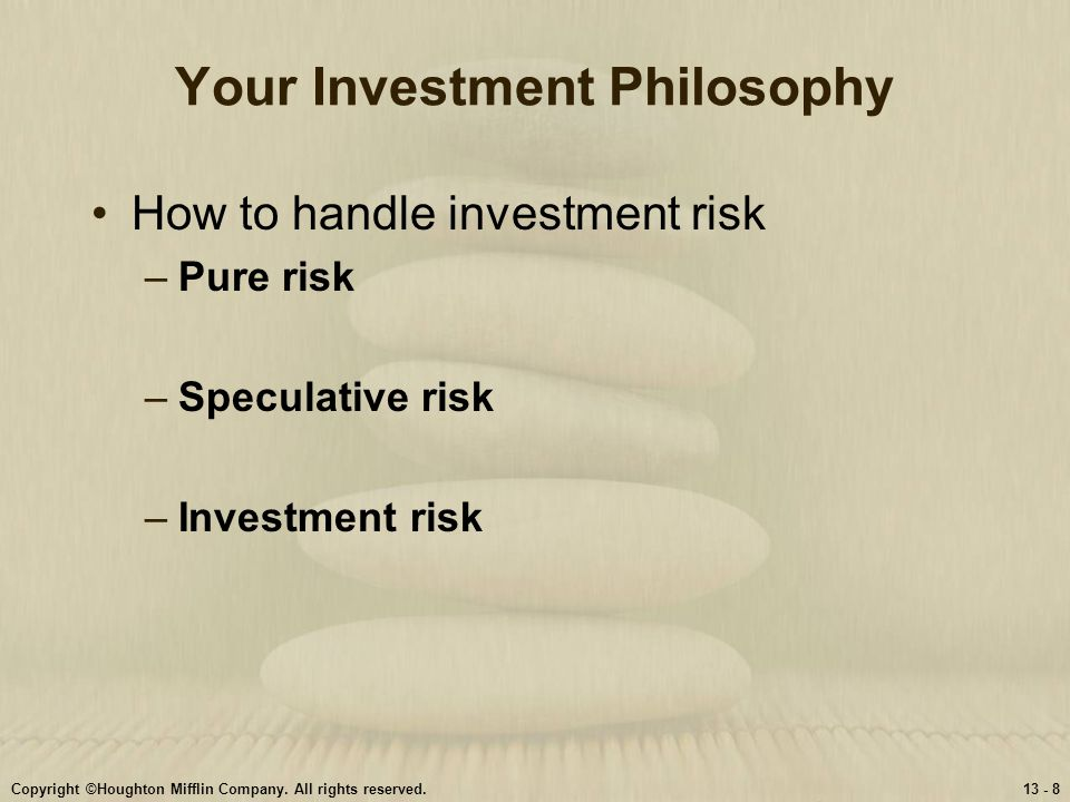 Your Investment Philosophy