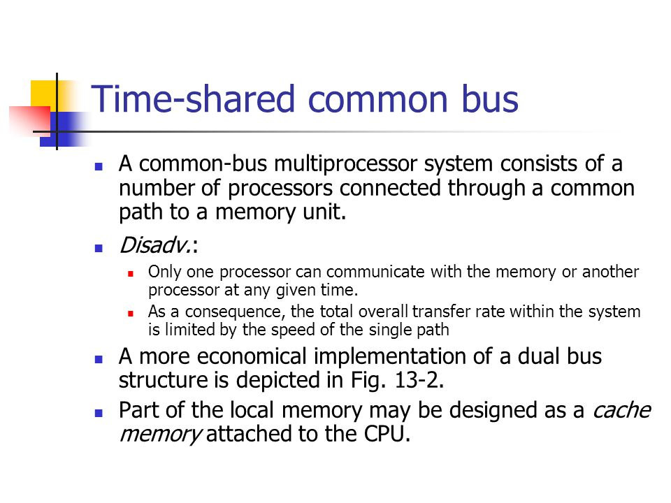 Time-shared common bus