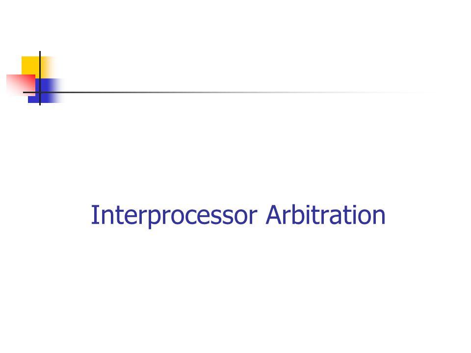 Interprocessor Arbitration