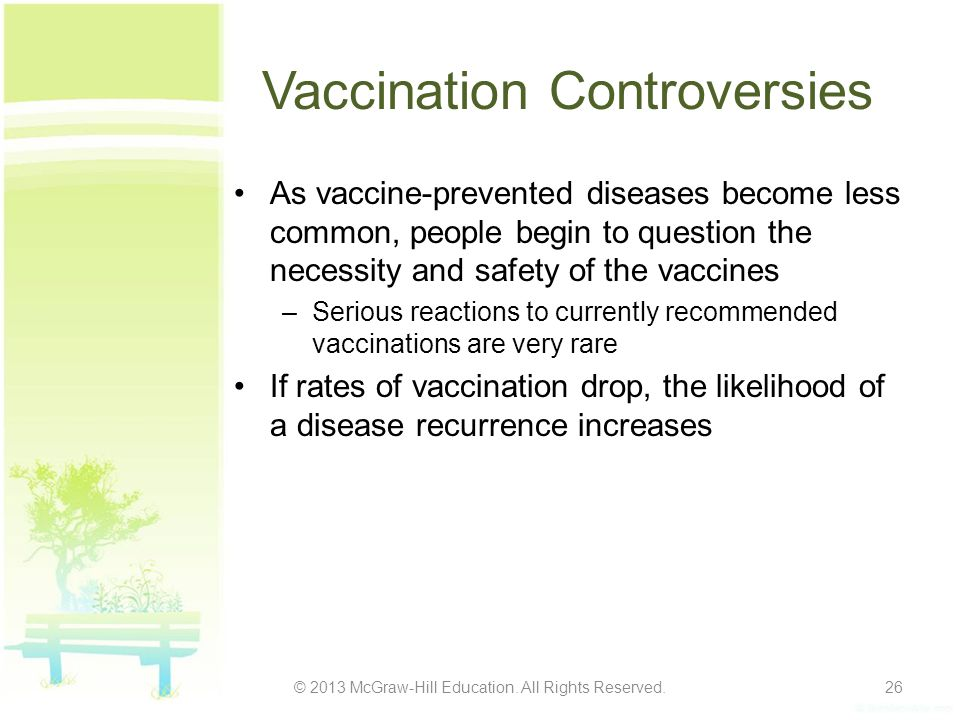 Vaccination Controversies
