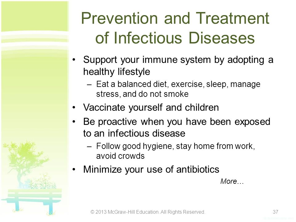 Prevention and Treatment of Infectious Diseases