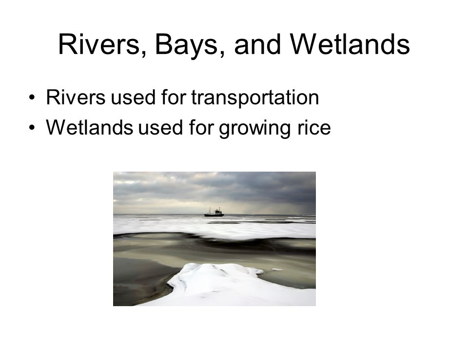Rivers, Bays, and Wetlands