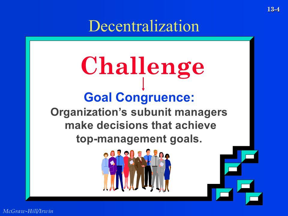 Challenge Decentralization