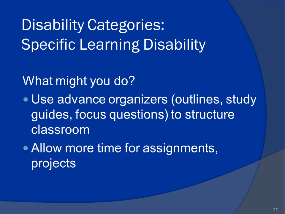 Classroom Design For Learning Disabilities ~ Standard paraeducator training ppt download