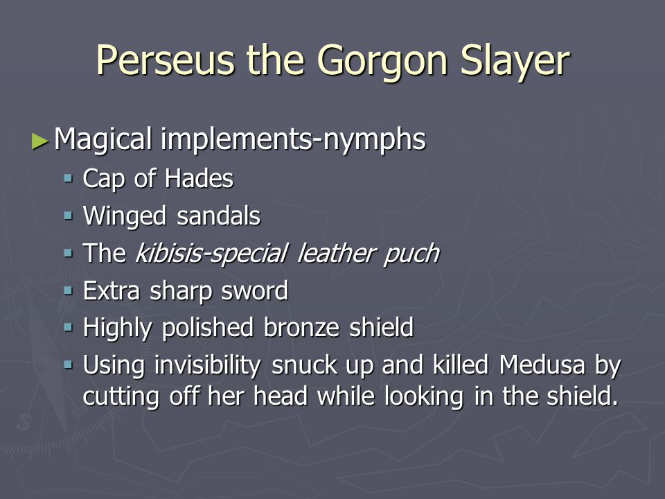 Perseus the Gorgon Slayer