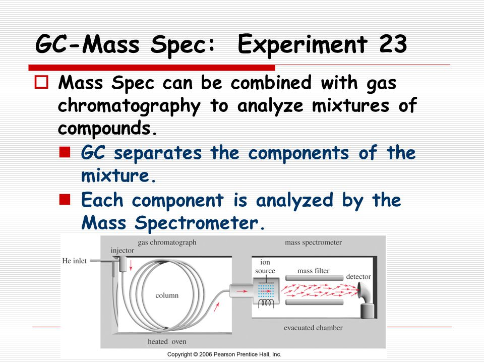 GC-Mass Spec: Experiment 23