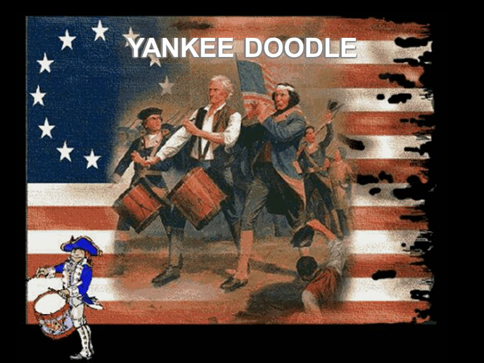 YANKEE DOODLE For the patriots.