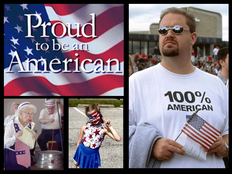 I will always be an American.