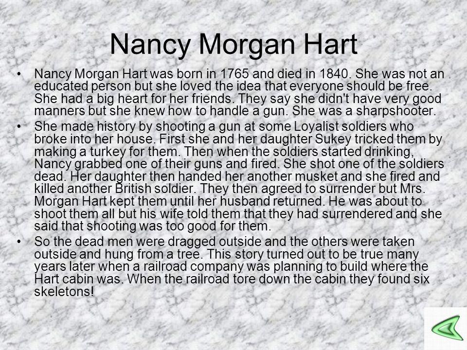 Nancy Morgan Hart