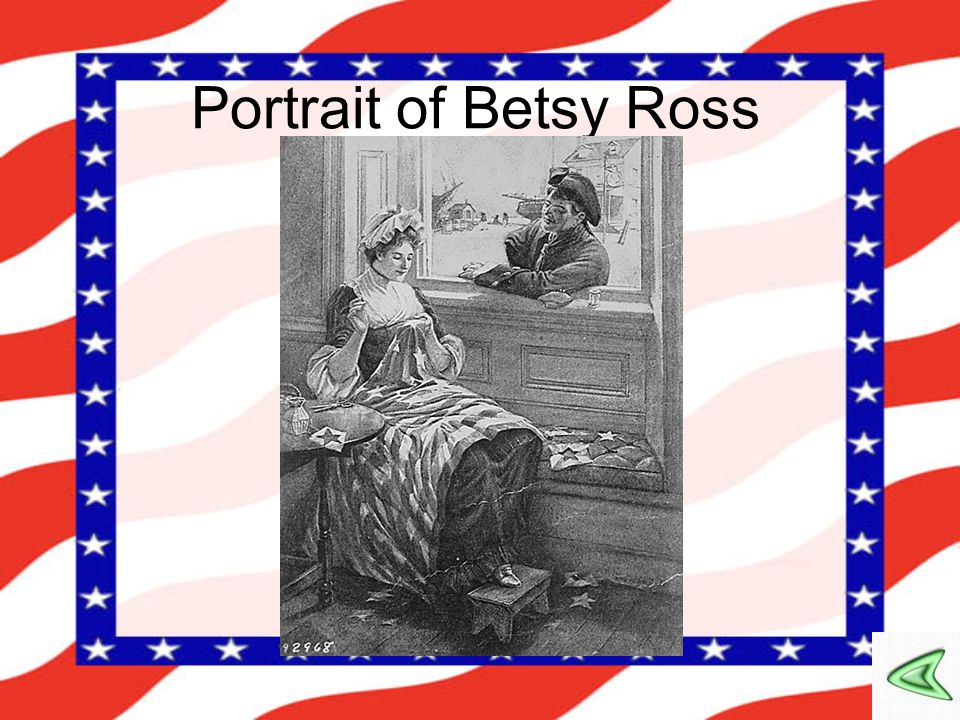 Portrait of Betsy Ross