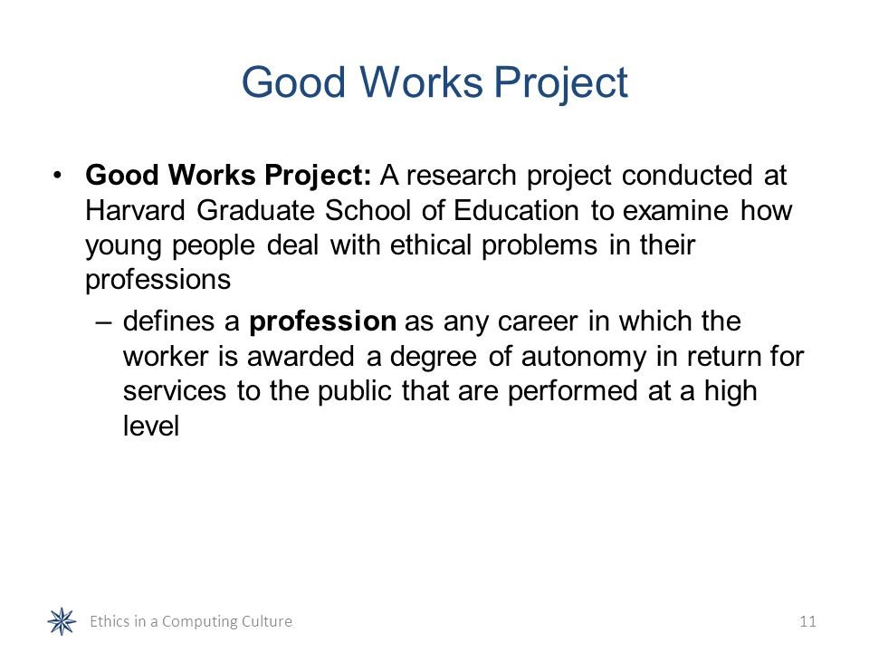 Good Works Project
