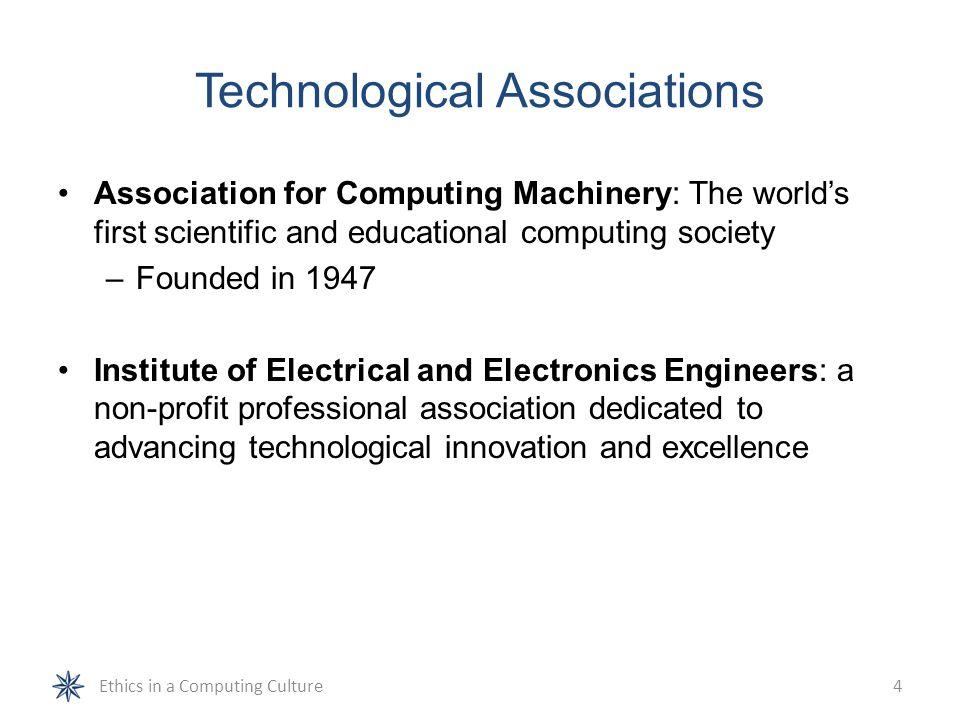 Technological Associations