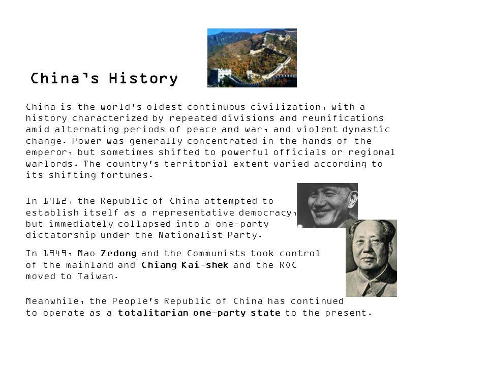 China's History