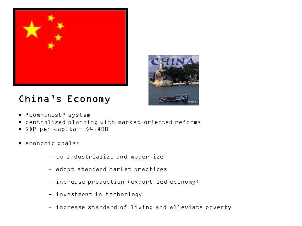 China's Economy communist system