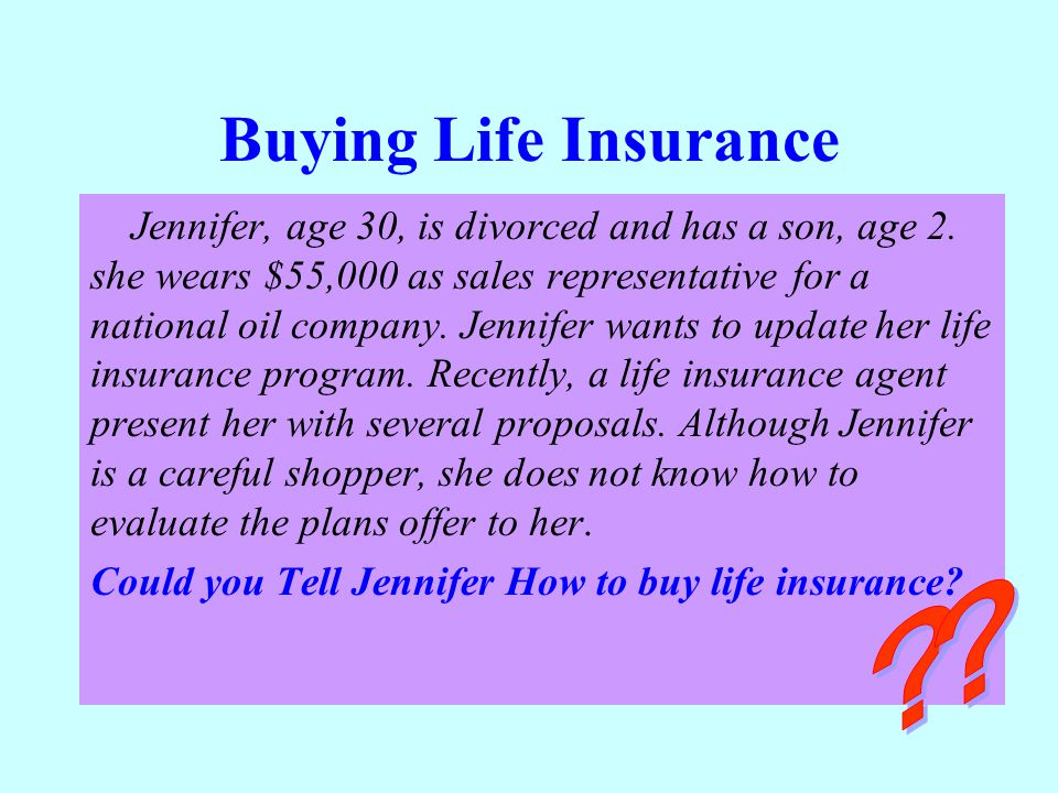 Buying Life Insurance
