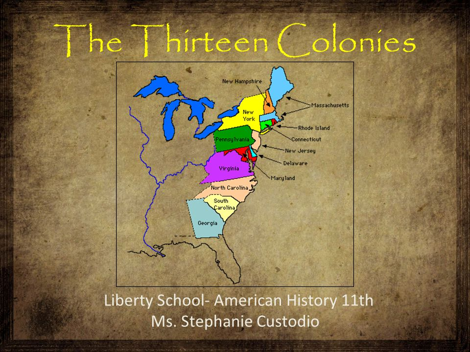 Liberty School- American History 11th Ms. Stephanie Custodio
