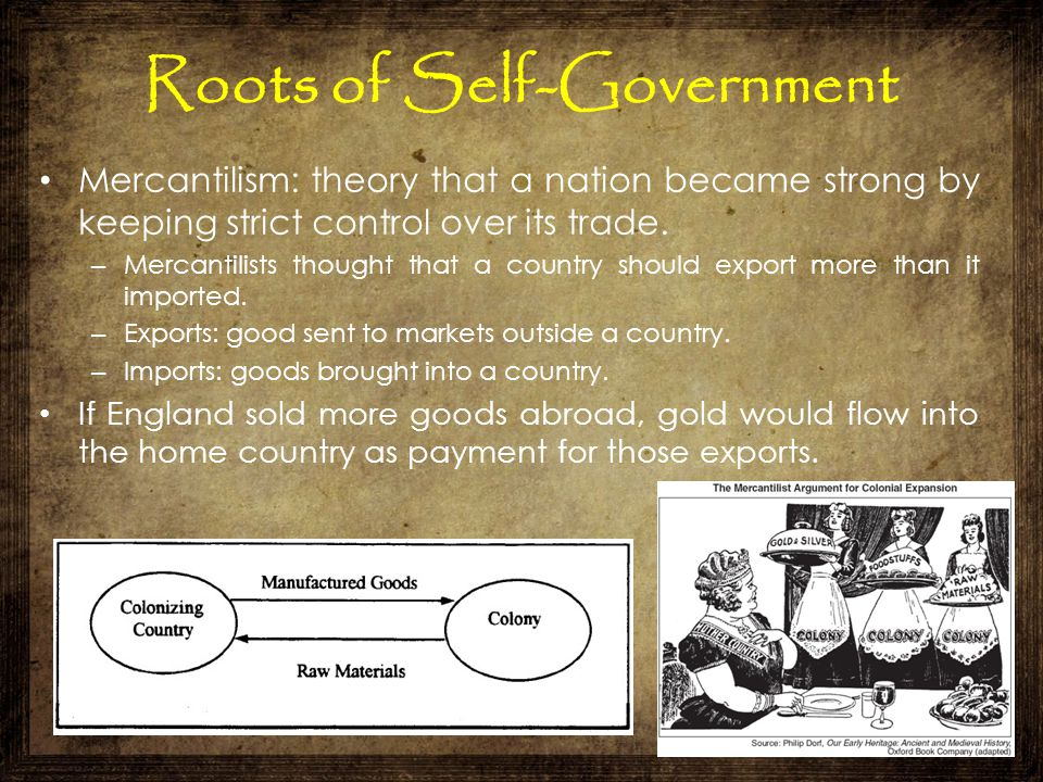Roots of Self-Government