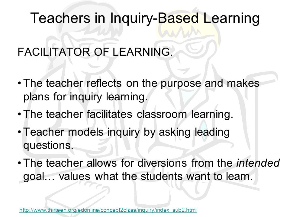 Teachers in Inquiry-Based Learning