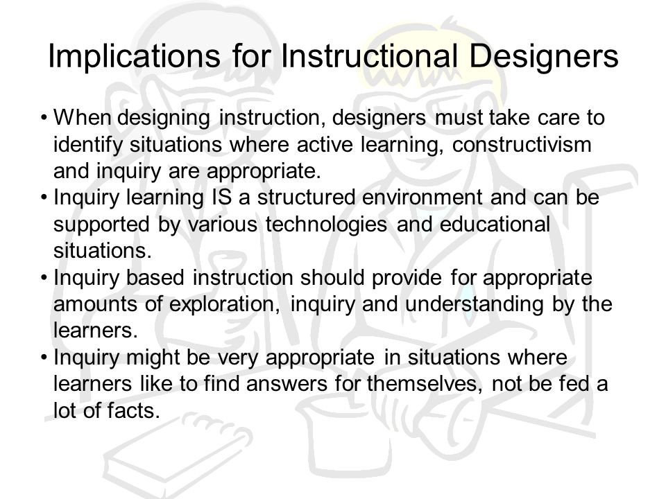 Implications for Instructional Designers
