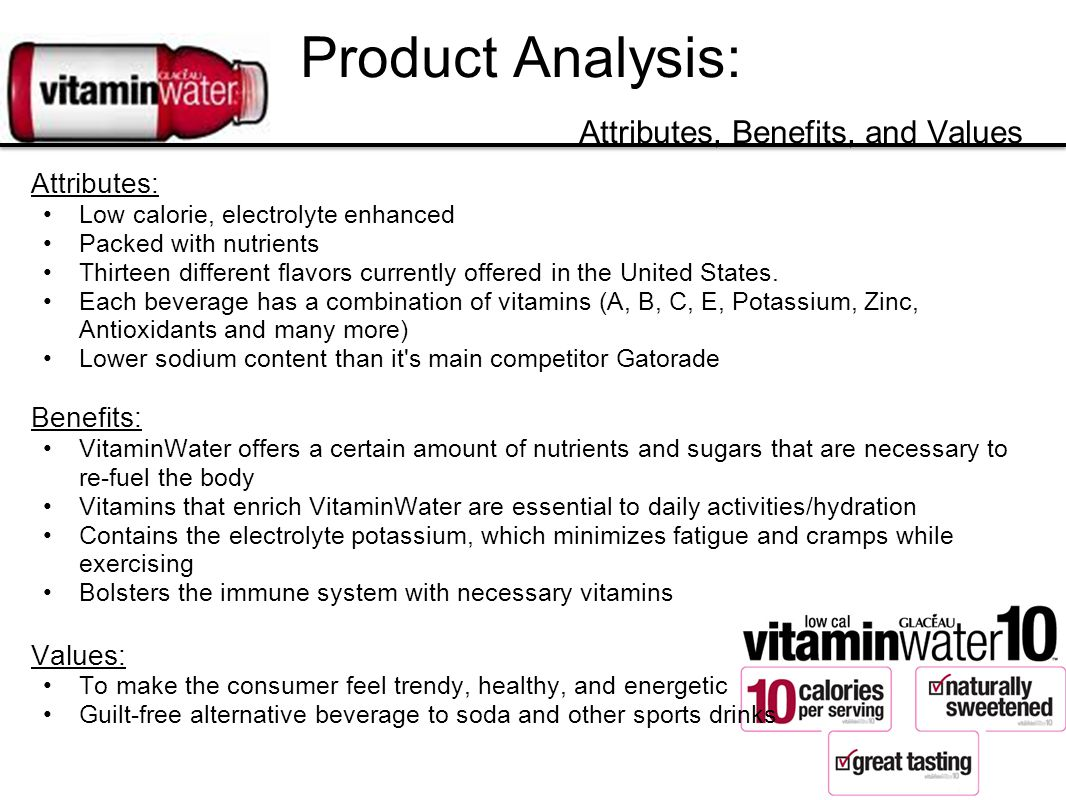 Product Analysis: Attributes, Benefits, and Values