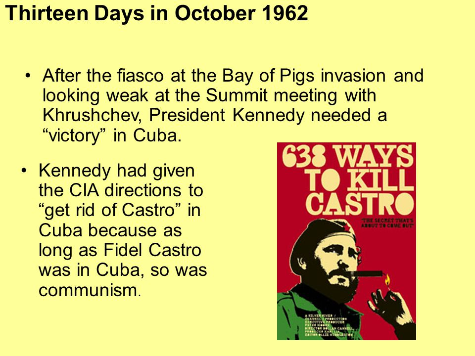 Thirteen Days in October 1962
