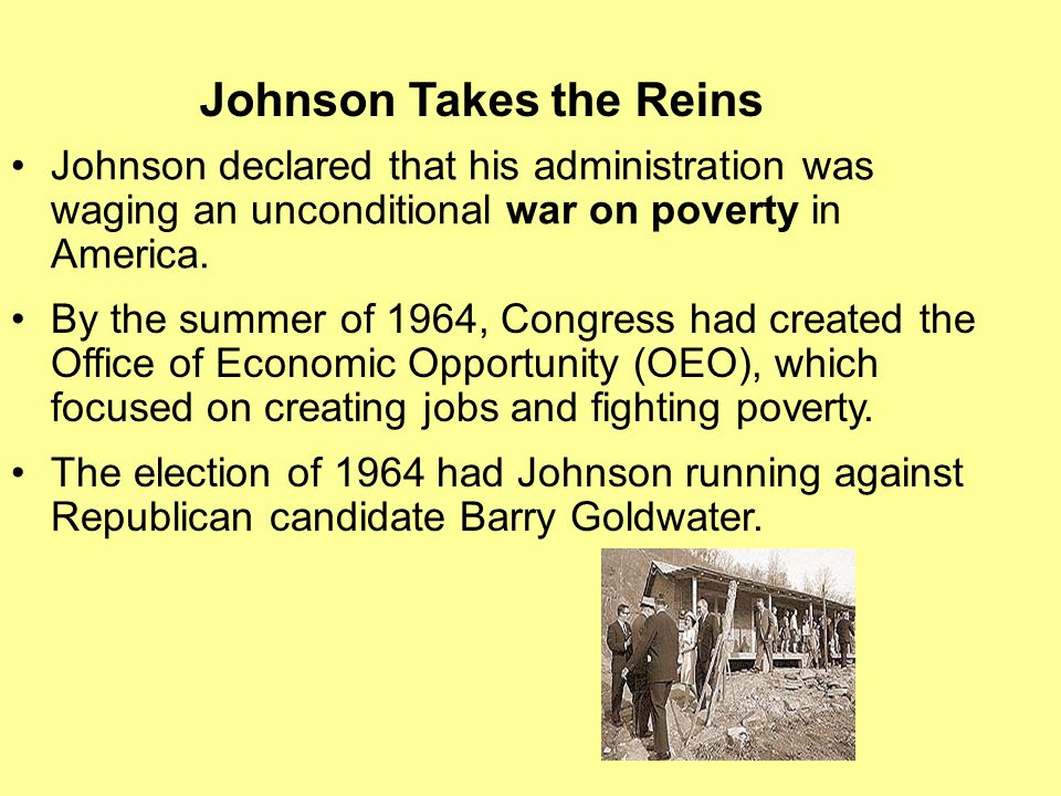 Johnson Takes the Reins