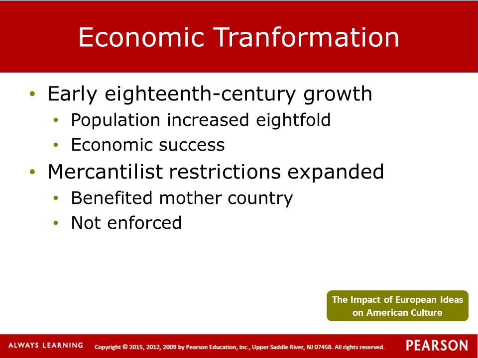 Economic Tranformation