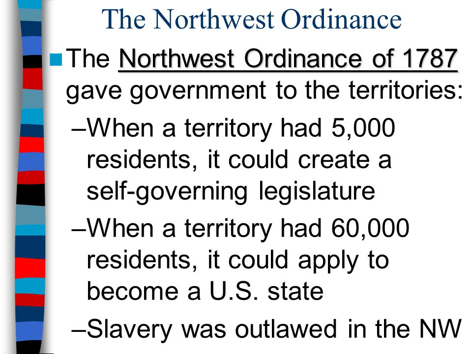 The Northwest Ordinance