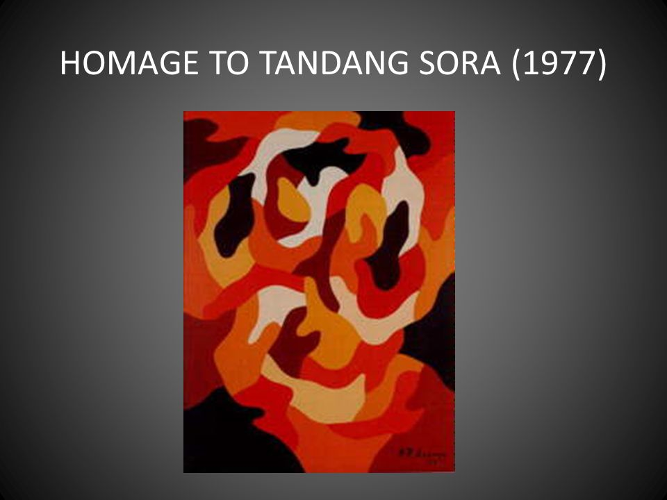 HOMAGE TO TANDANG SORA (1977)