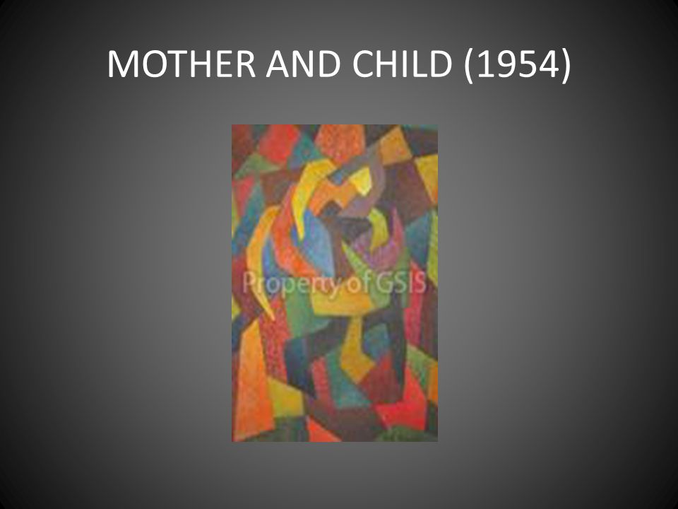 MOTHER AND CHILD (1954)