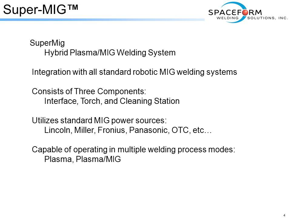 Super-MIG™ SuperMig Hybrid Plasma/MIG Welding System