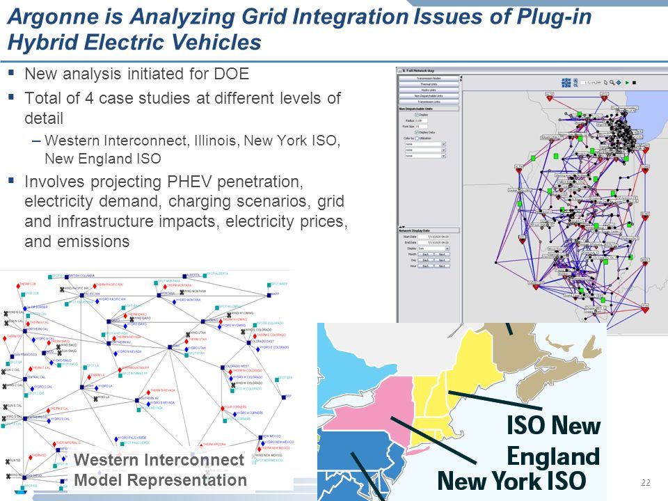 Argonne is Analyzing Grid Integration Issues of Plug-in Hybrid Electric Vehicles