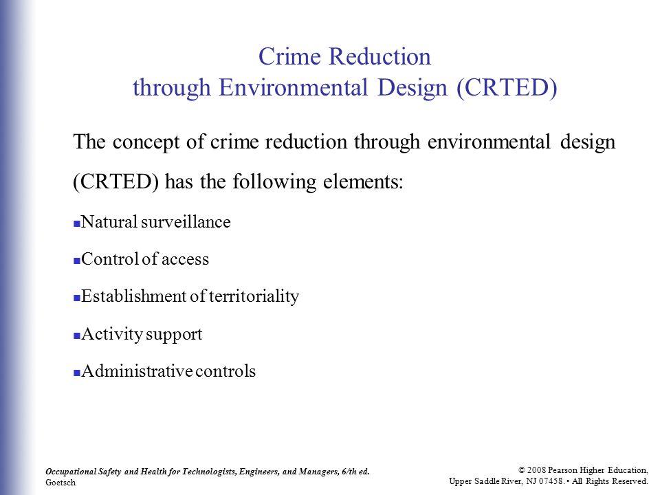 Crime Reduction through Environmental Design (CRTED)