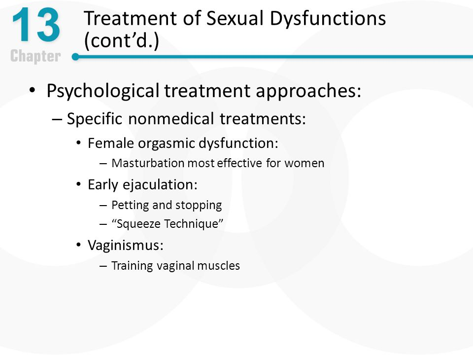 physiological effects of masturbation
