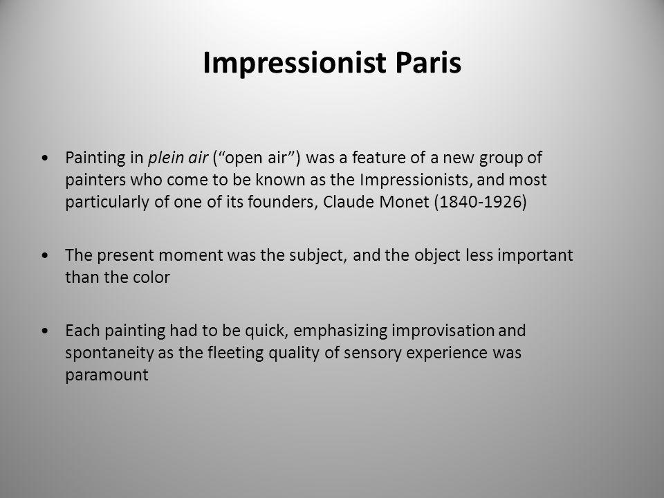 Impressionist Paris