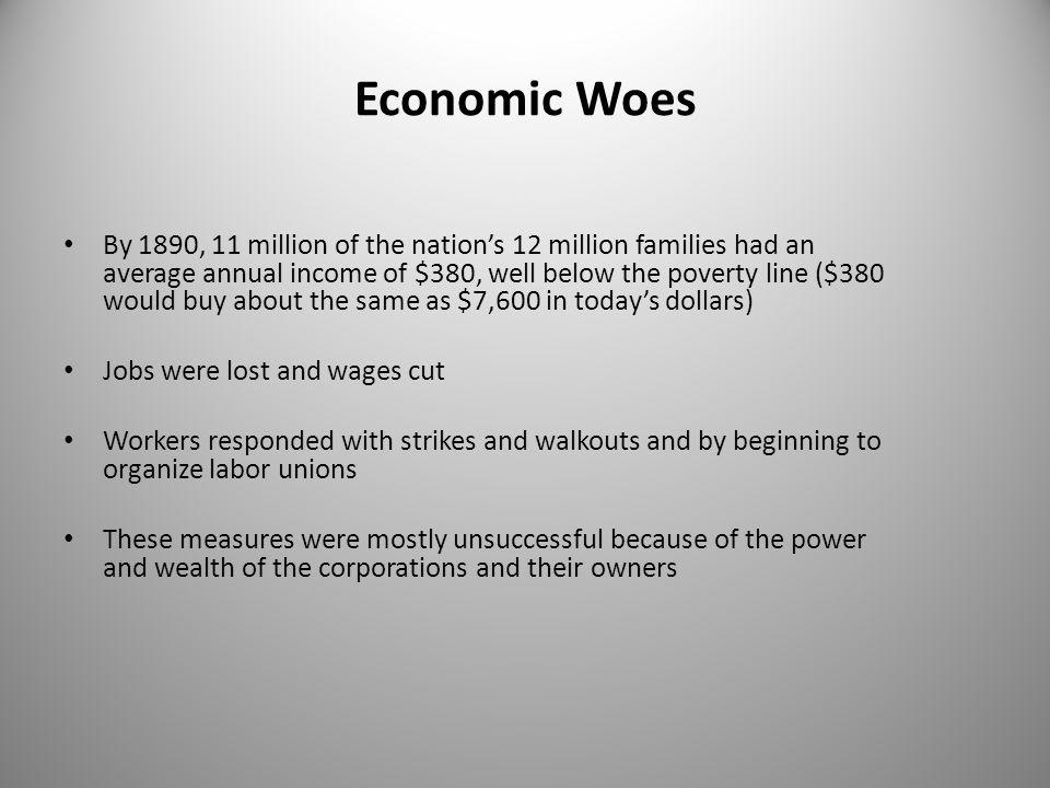 Economic Woes
