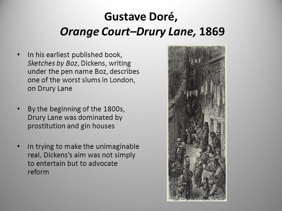 Gustave Doré, Orange Court–Drury Lane, 1869