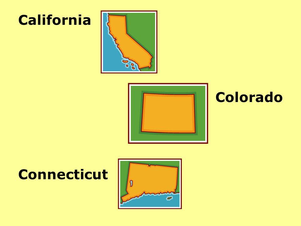 California Colorado Connecticut