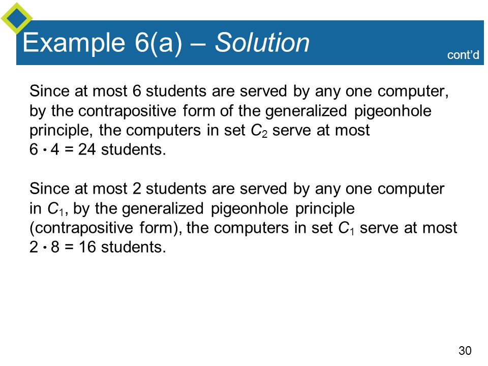 Example 6(a) – Solution cont'd.