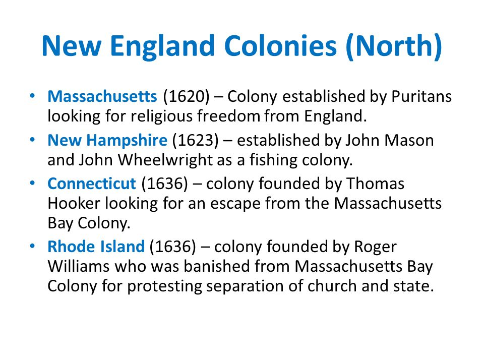 The Thirteen Colonies. - ppt download